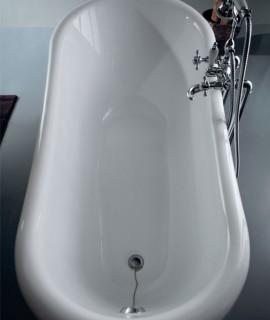 Vasca Astoria bianca ovale Colacril