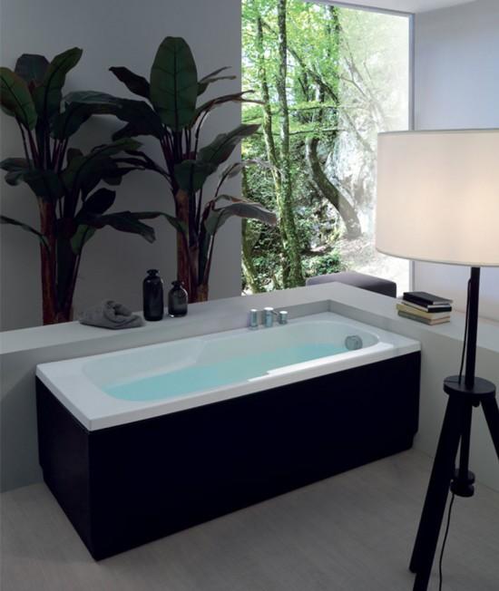 Vasca astra colacril classica idro e cromo pannellata incasso for Vasca da bagno classica
