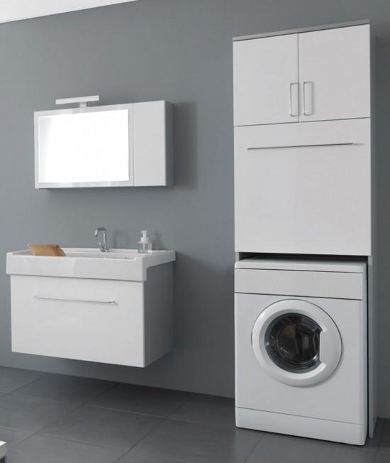 Lavanderia Arredo Bagno completo lavatrice Set 4 Lavarredo