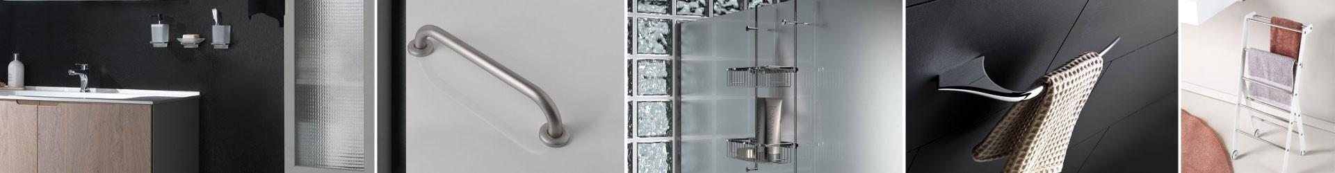 Vendita accessori bagno a piantana a muro complementi per casa e hotel
