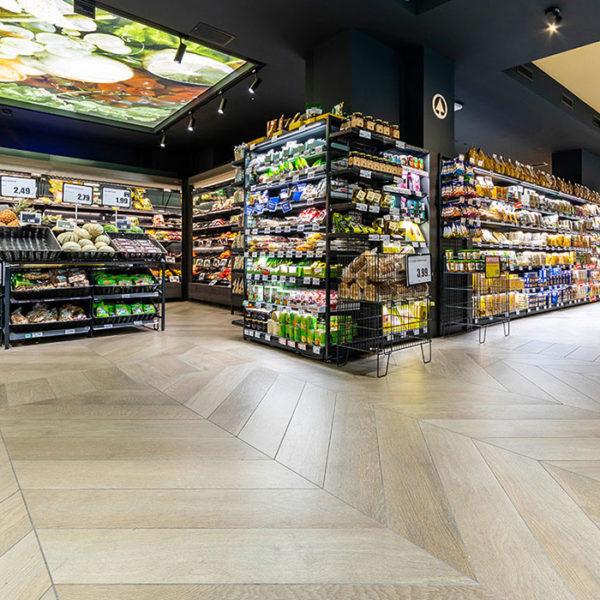 Pavimenti per supermercati