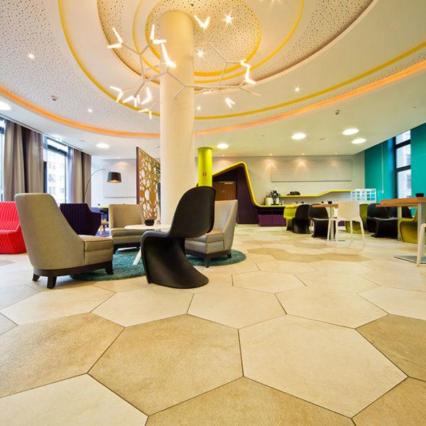 Ristrutturazione pavimento Hotel