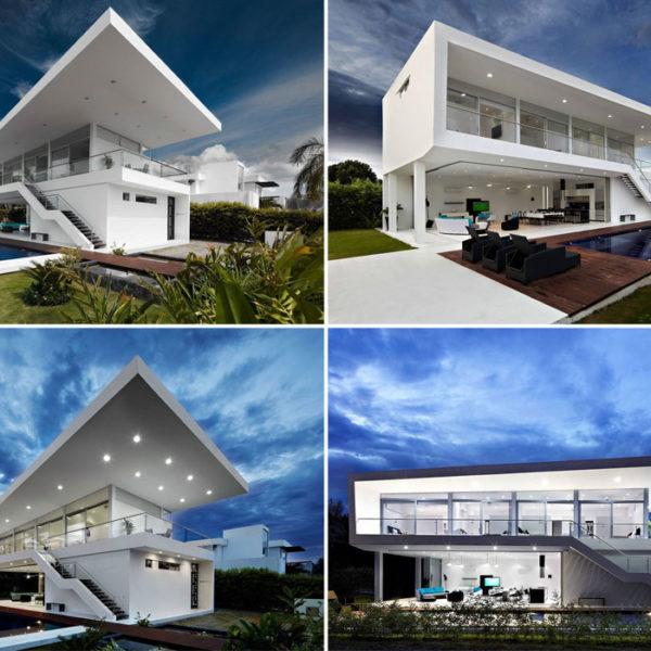 casa moderna esterni