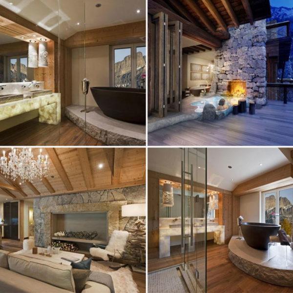 interni ristrutturazione casa villa rustica